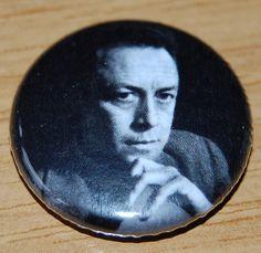 Albert Camus Button Badge 25mm / 1 inch The