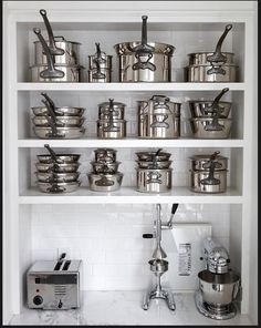 shelves for cookware