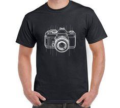 Camera T Shirt Camera Digital Camera by FreakyTshirtShop on Etsy