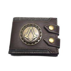 New Arrival 2016 Assassin's Creed Wallet - NerdKudo - 1 Modern Assassin, Estilo Geek, Nerd Merch, Assassins Creed Cosplay, Assassin's Creed, Geek Chic, Cool Items, Fallout, Cool Stuff