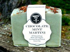 Chocolate Mint Martini Happy Hour Soap – Blue Blossom