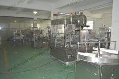 Auto chemical paste filling capping line by weight type filling