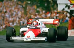1984 Brands Hatch Mclaren Mp4-2 Niki Lauda