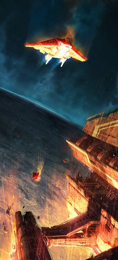 concept ships: Concept ships by John Wu