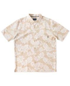 Jack O'Neill Men's Hilo Shirt - Tan/Beige XL