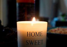 12 UNELMAA: Oma aika Candle Jars, Candles, Sweet Home, Candle Mason Jars, House Beautiful, Candy, Candle Sticks, Candle