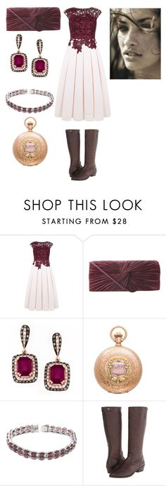 """Love every freckle #2"" by amory-eyre ❤ liked on Polyvore featuring Ted Baker, J. Furmani, De Buman and Frye"