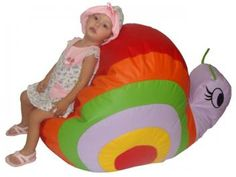 Puff Caracol Infantil - Stay Puff