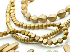 Add Nangka wooden beads to any piece for that organic inspiration