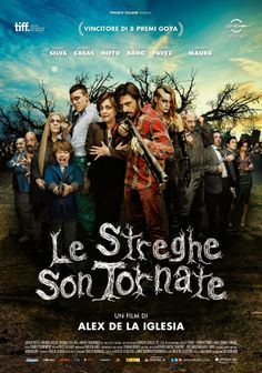 Le streghe son tornate (film, horror, commedia)  dal 30 aprile 2015 al #cinema ... #film #trailer