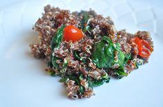 The Vanilla Tulip: Parmesan Quinoa with Vegetables