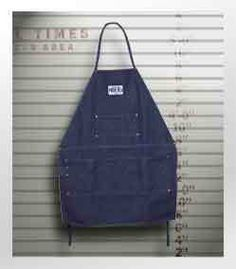All American Store LLC. Store - Prison Blues Work Apron, $26.99 (http://www.allamericanstore.us/prison-blues-work-apron/)