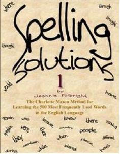 Free Charlotte Mason Inspired Spelling Program