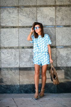 Blue feeling - Lovely Pepa by Alexandra Alexandra Pereira, Chic Summer Style,  Palazzo, 9ff29f905797