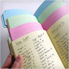 Tab Notebook super easy way to stay organized $15