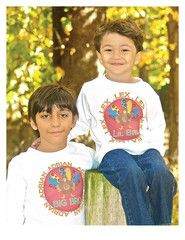 Thanksgiving Big Brother Big Sister Sibling Set, Personalized Turkey | FUNKY MONKEY THREADS,#FMT, #funkymonkeythreads, #1stthanksgiving, #thanksgivingbrothers