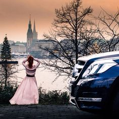 What do you believe the woman in the photo is thinking here? c/o @Anna Totten FrOst. #GLK #GLK250 #mercedes #benz #instacar