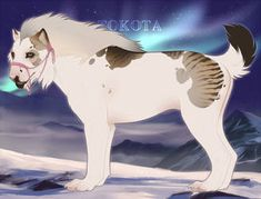 Zralok 28038 by TotemSpirit on DeviantArt Animal Sketches, Animal Drawings, Cartoon Dog Drawing, Big Wolf, Fantasy Beasts, Fantasy Drawings, Anime Wolf, Art Reference Poses, Mythical Creatures