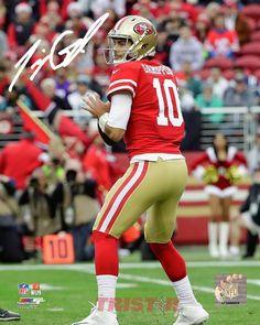 076b138c79d Jimmy Garoppolo Autographed San Francisco 49ers 16x20 Photo. Nfl San  FranciscoBaseball PlayoffsBasketball UniformsSantosGymSportsProductsTattoo Saints
