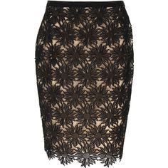 VALENTINO Skirt ($785) ❤ liked on Polyvore