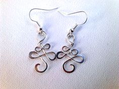 #silver # handmadejewelry https://www.etsy.com/listing/197203519/small-celtic-earrings-sterling-silver?ref=listing-shop-header-1