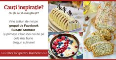 Sărăţele rapide cu telemea şi smântână | Bucate Aromate Pesto, Mousse Dessert, Falafel, Guacamole, Oreo, Romanian Food, Cheesecake, Dessert Recipes, Cake Recipes
