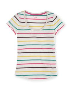 Favourite Tee WL886 Short Sleeved Tops at Boden