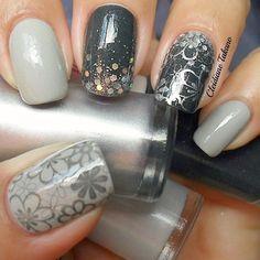 Stamping Nail Art Konad M100 #stamping