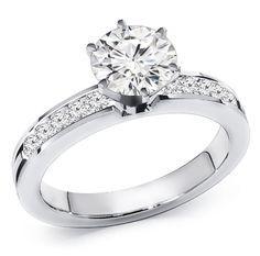 1.00 ct. Diamond Engagement Ring