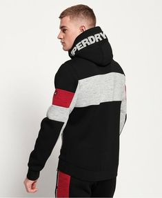 Shop Superdry Mens Gym Tech Stretch Block Zip Hoodie in Black. Buy now with free delivery from the Official Superdry Store. Hoodie Jacket, Zip Hoodie, Winter T Shirts, Tommy Hilfiger Sweatshirt, Mens Sweatshirts, Men's Hoodies, Fashion Joggers, Boys Shirts, Black Hoodie