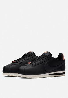 370194f52fe5 Nike - Classic cortez leather - black anthracite   mtlc red bronze phantom