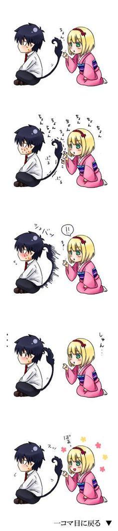 Rin & Shiemi: