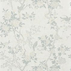 marlowe floral - dove wallpaper | Ralph Lauren Calico Wallpaper #drdwallpaper