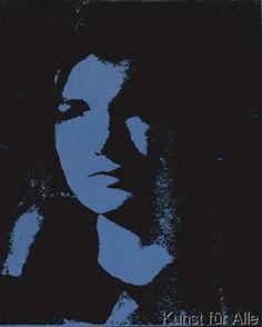 Andy Warhol - Jackie- With Veil, 1964