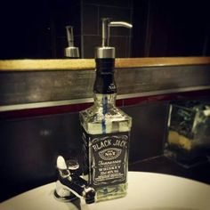 We are creative and crafty here at the Black Jack Pub Jack Pub, Tennessee Whiskey, Jack Black, Vodka Bottle, Crafty, Creative