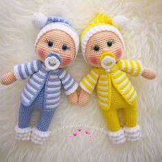 plus Amigurumi Doll Pacifier Baby Free Crochet Pattern - Crochet.plus Amigurumi Do. Doll Amigurumi Free Pattern, Crochet Amigurumi Free Patterns, Crochet Bear, Crochet Doll Pattern, Amigurumi Doll, Crochet Toys, Free Crochet, Doll Patterns Free, Crochet Gratis