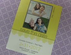 Save-the-dates can be magnets