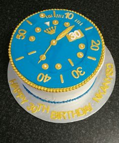 Watch cake for the gents by CakesbySthabile