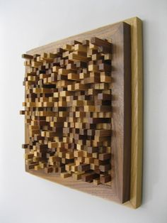Modern Wood Wall Hanging Sculpture  15 Off at by SteveFrank71, $220.00