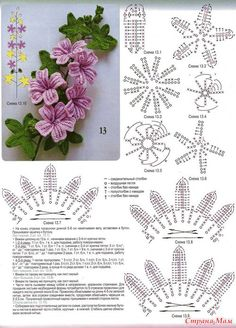 Flores de malha (revista Ksenia 8-2010)