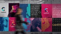 Adding this for a little contrast.... New Logo, Identity, and On-air Look for Centric by Gretel