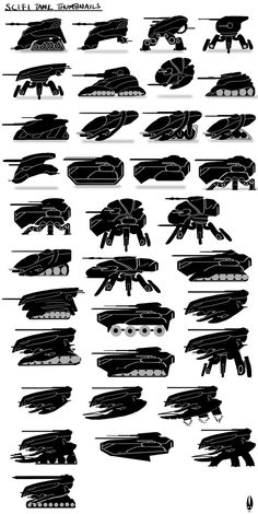 Sci-Fi Tank Concept Art | Posted by Astrid Castle at 15:36