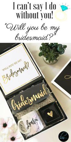 Will you be my bridesmaid? The perfect bridesmaid gift and bridesmaid proposal idea! #willyoubemybridesmaid #bridesquad #bridesmaidproposal #bridesmaid #bridesmaids