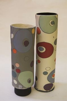 Hand Built Pottery, Slab Pottery, Pottery Bowls, Ceramic Pottery, Ceramic Flowers, Ceramic Vase, Pottery Painting Designs, Ceramic Techniques, Ceramic Design