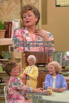 Ohhh the golden girls Lmfao