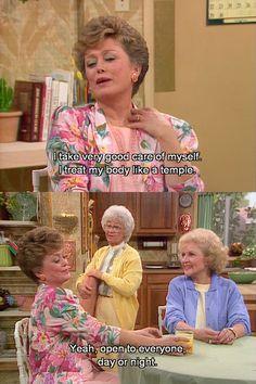 Golden girls never gets old!