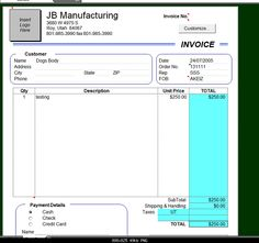 tax invoice for goods or services that all include gst. | projects, Invoice examples