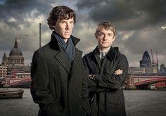 Sherlock Holmes (Benedict Cumberbatch) & John Watson (Martin Freeman)
