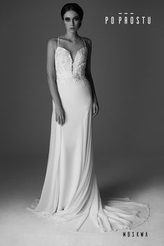 Moscow Wedding Dress. Suknia Moskwa. Simple wedding dress. Po Prostu suknie ślubne. Prosta suknia ślubna. Suknie ślubne. Wedding dress. #2018 #weddingdress #simpleweddingdress #weddinginspirations #bride #wedding #love #fashion #sukniaslubna #prostasukniaslubna #slubneinspiracje #Moscow #Moskwa