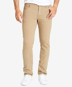 WILLIAM RAST Men's Dean Slim Straight Fit Coated Stretch Jeans | macys.com